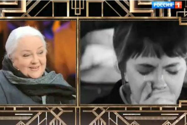 Екатерина Градова в фильме «Семнадцать мгновений весны» и - сегодня в студии