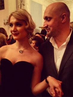 Гоша Куценко с дочерью Полиной