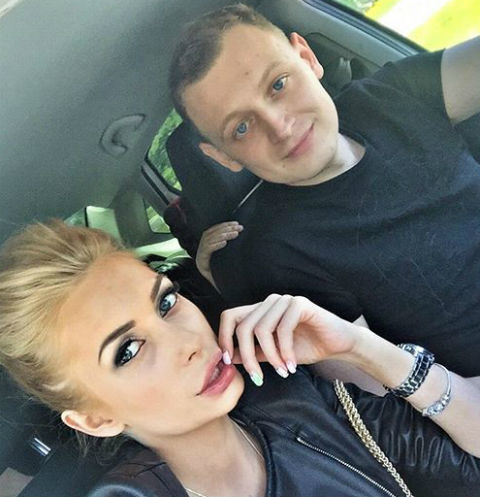 Кристина Дерябина и ее возлюбленный Александр
