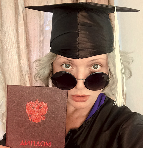 Ольга Дроздова пожертвовала работой ради учебы