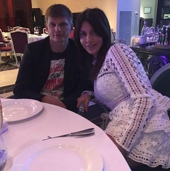 Андрей Аршавин и его супруга Алиса