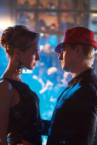 Поцелуй главных героев зрители увидят только в финале фильма
