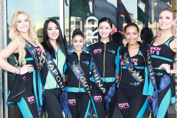 Конкурсантки Miss United Continents-2017