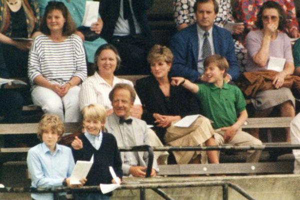 Джесси Уэбб сопровождала принцессу Диану с сыновьями на спортивных мероприятиях