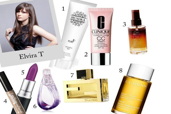 Любимая косметика и парфюмерии Elvira T