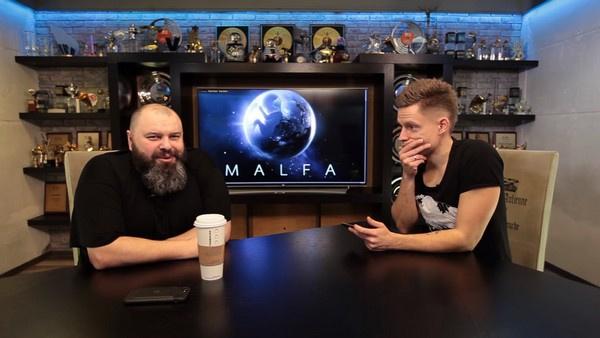 Максим Фадеев беседует с Юрием Дудем