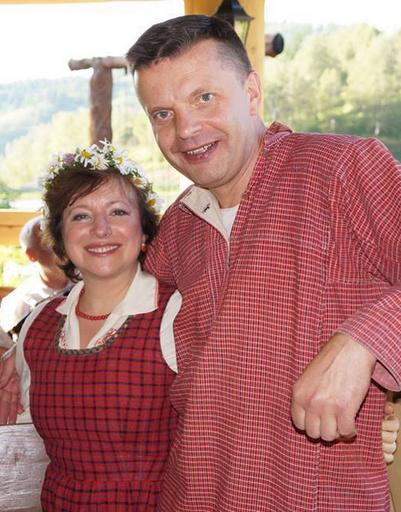 Леонид Парфенов и Елена Чекалова вместе вот уже 31 год