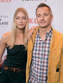 Степан Михалков с супругой Елизаветой