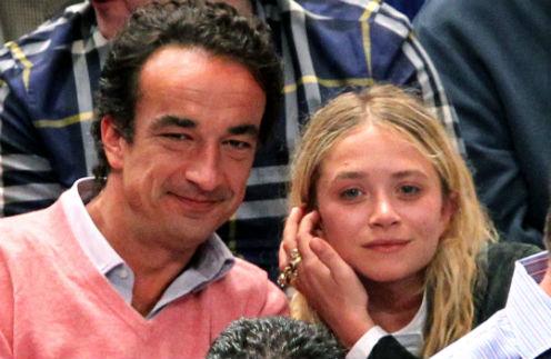 Мэри-Кейт Олсен и Оливье Саркози