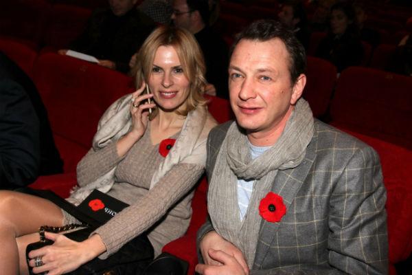 Актер с бывшей женой Елизаветой Круцко