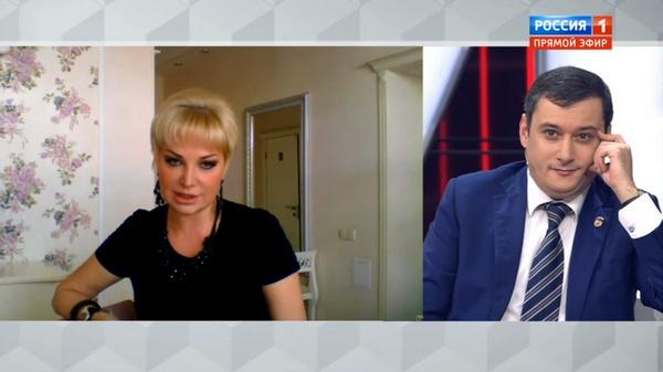 Мария Максакова вышла на связь со студией передачи из Киева
