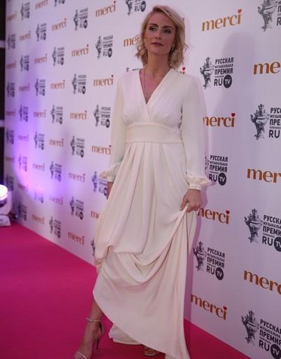 Катя Гордон на премии канала RU TV