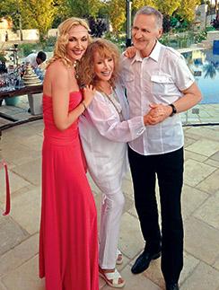 25 мая 2014 года Кристина Орбакайте собирала семью в Израиле на свой день рождения