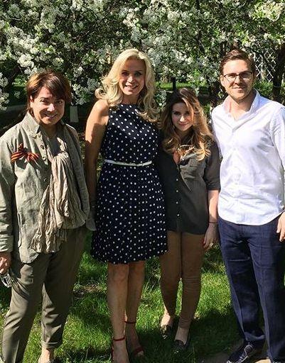 инстаграм рудковская и ее дети