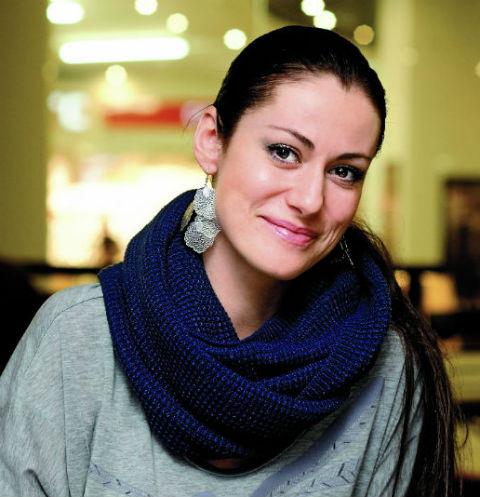 Анна Ковальчук спасла котенка от гибели
