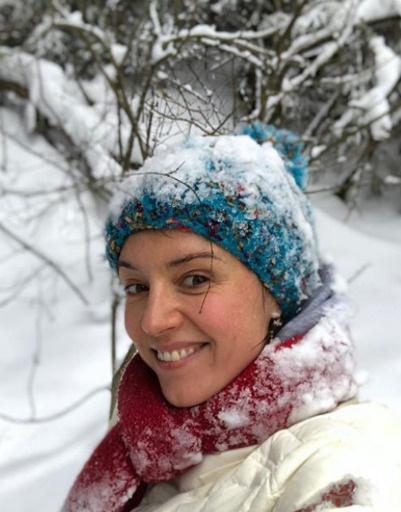 Ксения Алферова поспешила сделать селфи