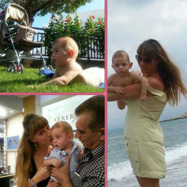 Екатерина утверждает, что ее сын невероятно похож на своего знаменитого отца