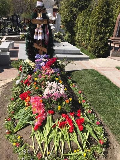 Место захоронения Дениса Вороненкова