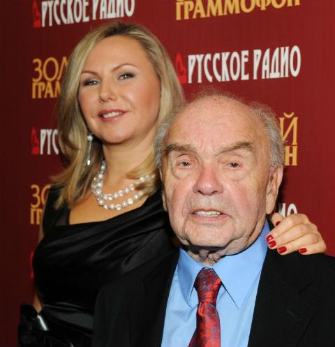 Владимир Шаинский с супругой Светланой