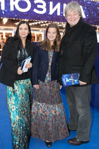 Екатерина и Александр Стриженовы с дочерью Сашей