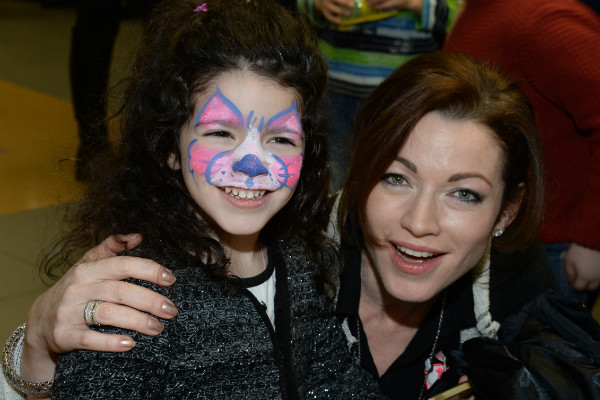 Алена с младшей дочкой Ксенией
