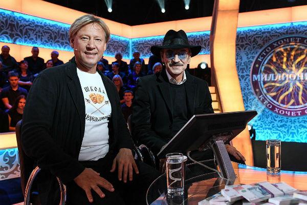 Дмитрий Харатьян и Михаил Боярский выиграли 200 тысяч рублей