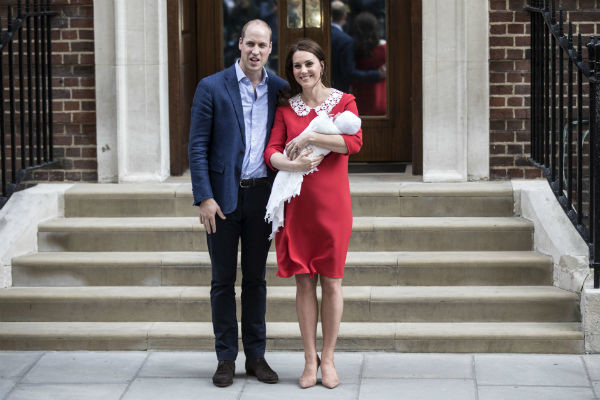Кейт Миддлтон родила троих детей в больнице Святой Марии
