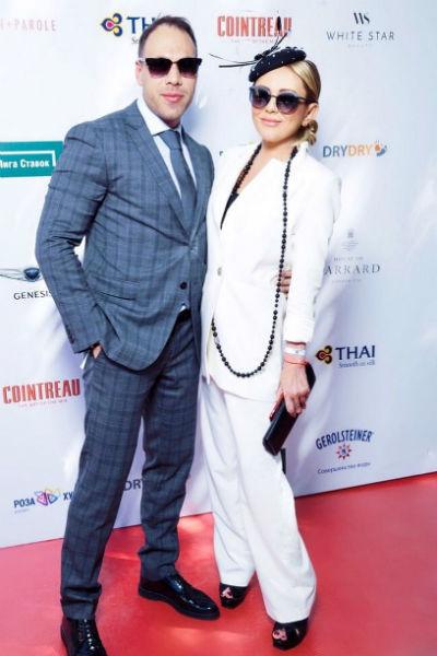 Юлия Началова с новым избранником