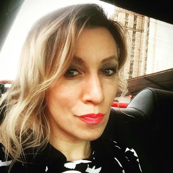 Мария Захарова знает два иностранных языка
