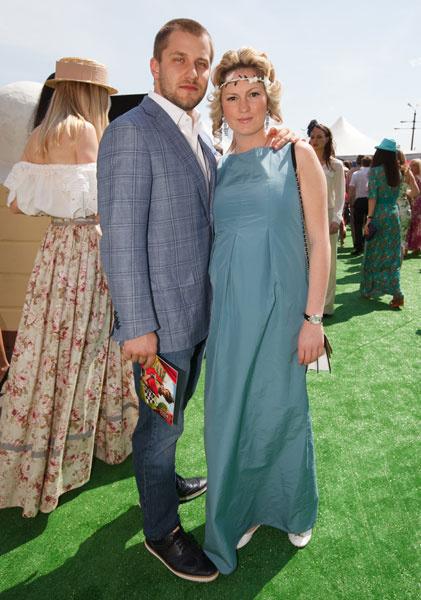 Рената Пиотровски с мужем