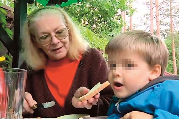 Актриса любит нянчиться с внуками