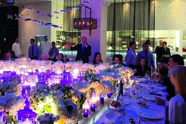 Ольга Крутая отпраздновала юбилей в одном из лучших ресторанов Нью-Йорка