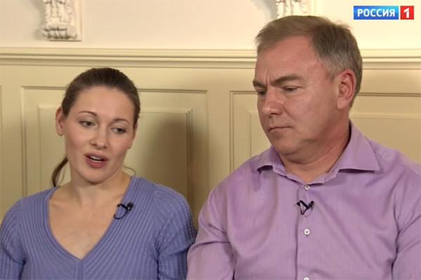 Ольга Красько с супругом