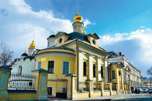 Вилкова и Любимов крестили детей в этом храме