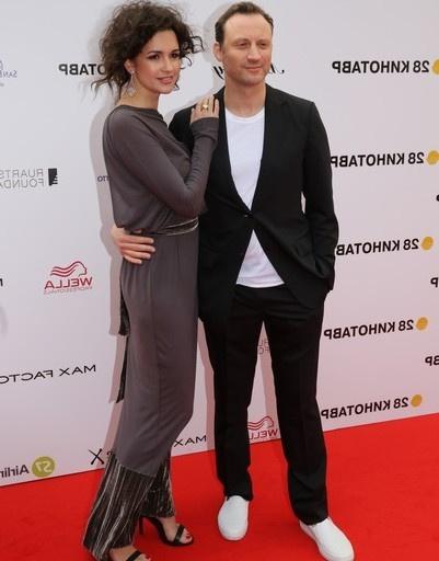 Анатолий Белый с женой