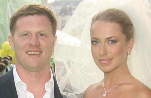 Анна Дубовицкая с мужем