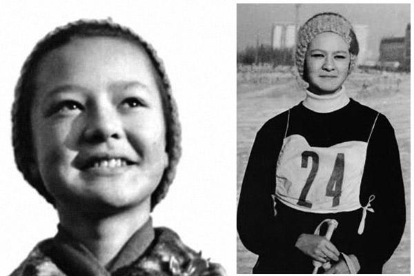 Ирина Хакамада в детстве