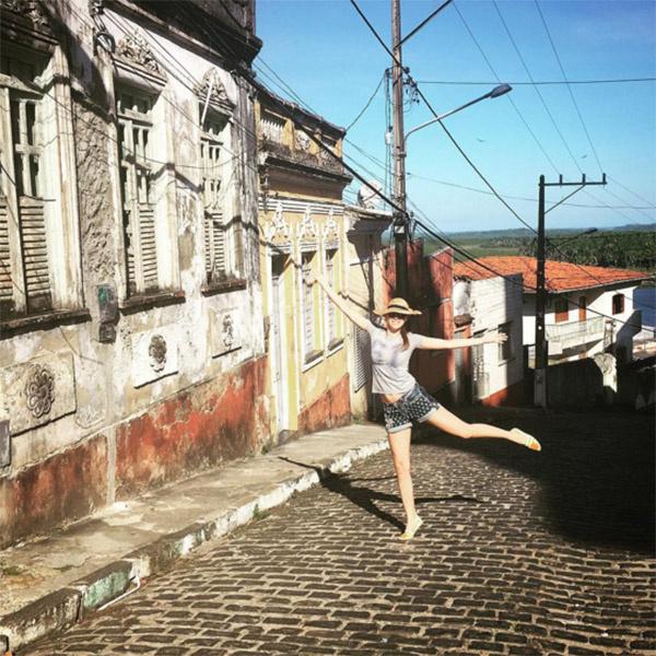 Полина Диброва от Бразилии в восторге, несмотря на низкий уровень сервиса