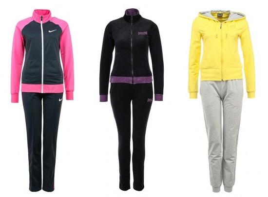Слева направо: Nike, Lonsdale, EA7