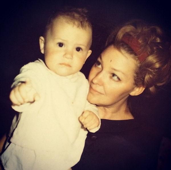 Маленький Федя с мамой - великой Ириной Скобцевой