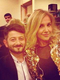Михаил Галустян и Юлия Ковальчук