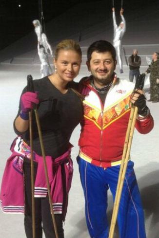 Анна Семенович и Михаил Галустян