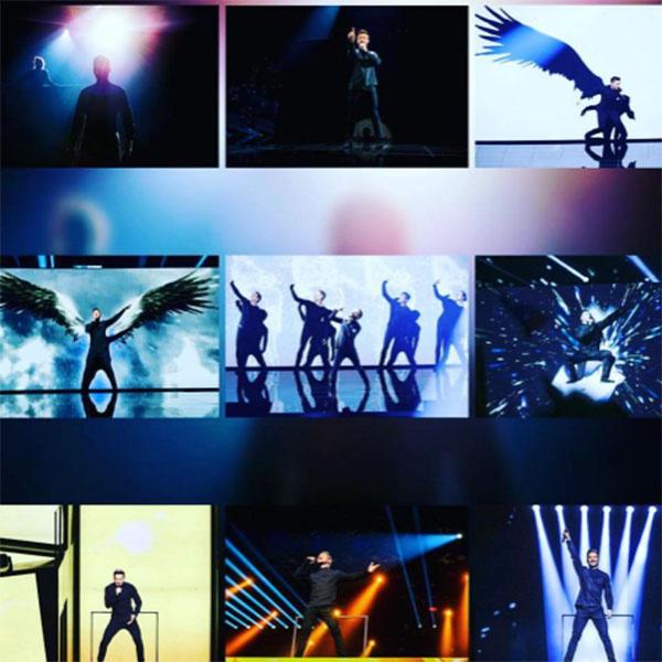Номер Сергея Лазарева стал одним из самых ярких на «Евровидении-2016»