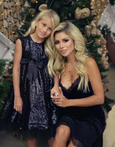 Белла Потемкина с дочерью Евой