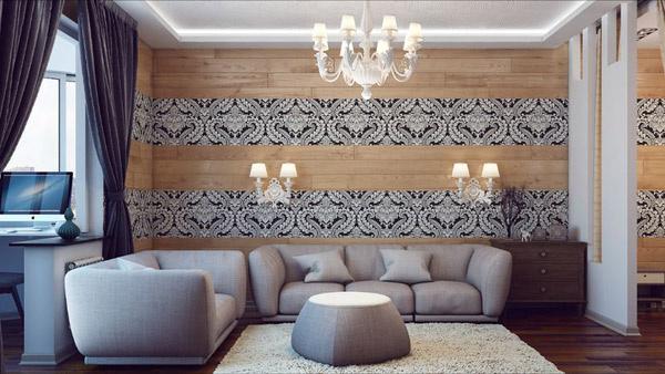 Один из вариантов дизайна будущей квартиры