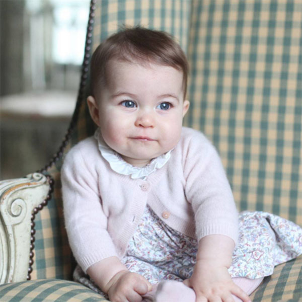 Снимки дочери Кейт Миддлтон сделала в начале ноября, когда Шарлотте исполнилось шесть месяцев
