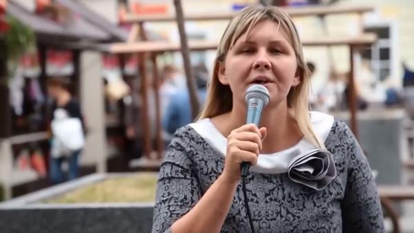Незрячая певица Юлия Дьякова