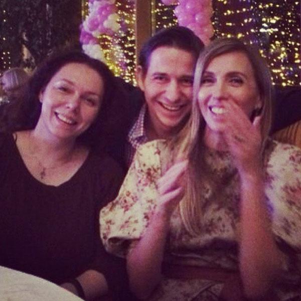 Светлана Бондарчук с братом и сестрой