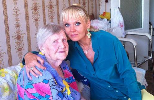 Валентина Дмитриевна с Валерией