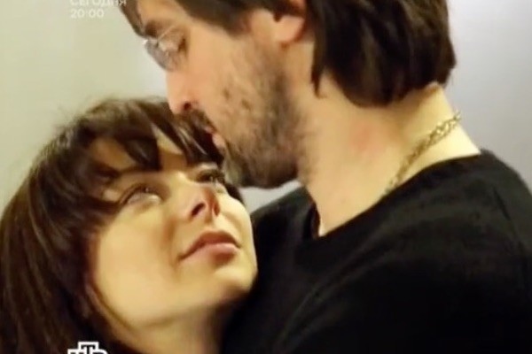 Марина Александрова с мужем Андреем Болтенко